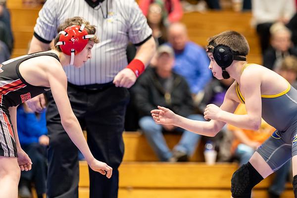 AMS Wrestling vs Dekalb
