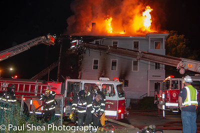 2nd Alarm Structure Fire - Worcester, MA - 6/25/18