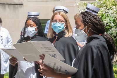 Nurse Honor Guard ceremony