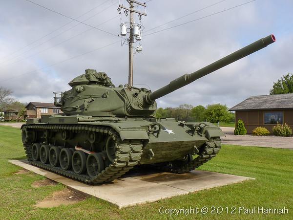 AL Post 100 - Sparta, WI - M60A3 & AH-1
