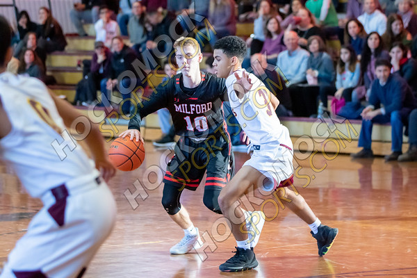 Sharon-Milford Boys Basketball - 01-05-20