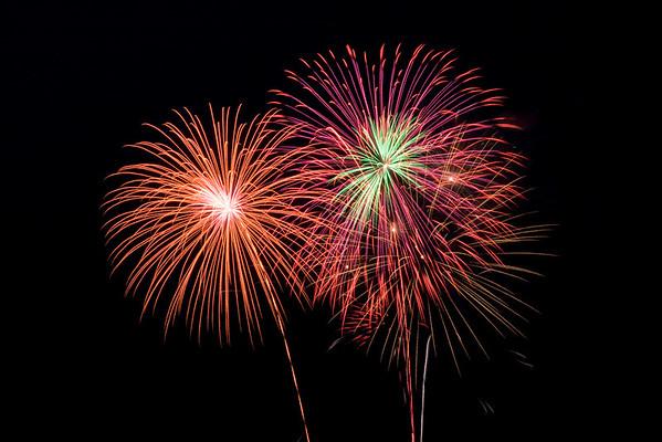 Newton, Iowa Fireworks 2009