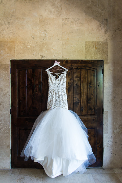 Detail Shot > Tag Teddi, Kleinfeld Bridal, Bell Tower on 34th, (location Houston TX / Bell Tower on 34th) : Custom Wedding Gown Hanger: Twisted Hangers