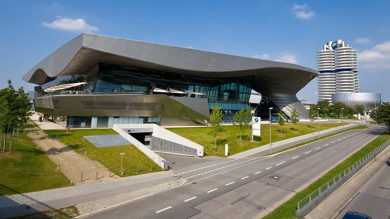 BMW Welt, Museum and HQ Tower