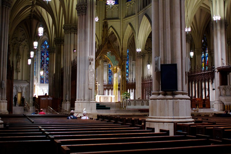 Saint Patrick's Cathedral, NYC, August 2010