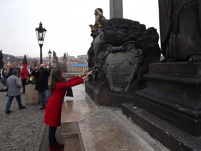Prague, Czech Republic - January, 2014