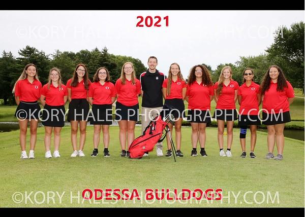 2021 OHS Girls Golf