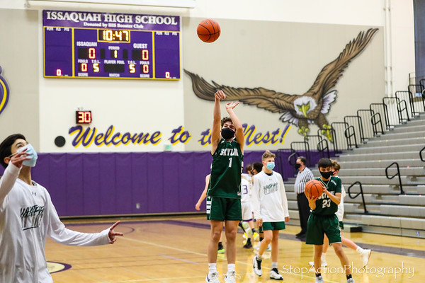 2021-04-26 Skyline Boys C Basketball at Issaquah