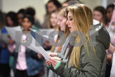Foreign Language Club Sings Carols to Daycare