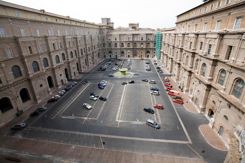 Belvedere courtyard, Vatican