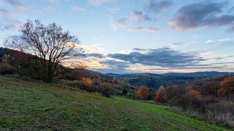Sunset in Radic