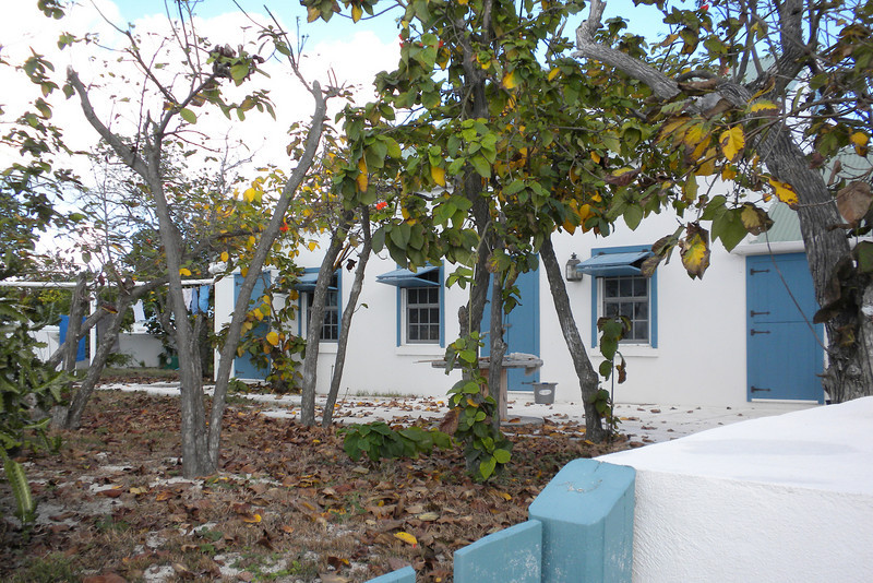 Home along Front Street, Grand Turk