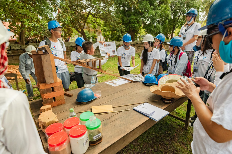 World Heritage Volunteers Program - Angkor, Cambodia