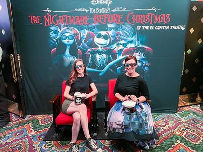 El Capitan Theatre - Nightmare Before Christmas 2019