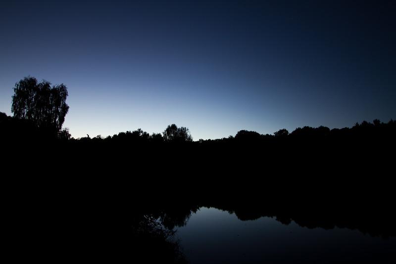Sunset 27 September 2015 @ Mötschweiher, Deutschland