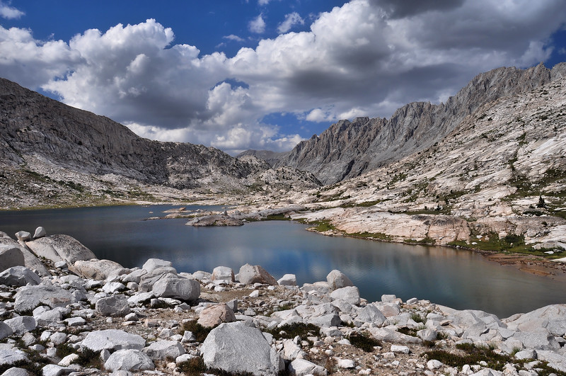 (2010-August 24-27) Wallace Col to the Evolution Basin.  Sierra Nevada Range, California.