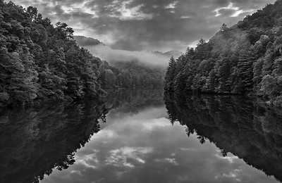 Rivers and Lakes  (B&W)