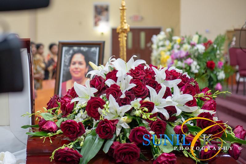 Lisy Aickareth Funeral