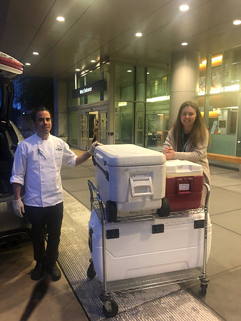 The Herbfarm Meals for Hospitals March 30th