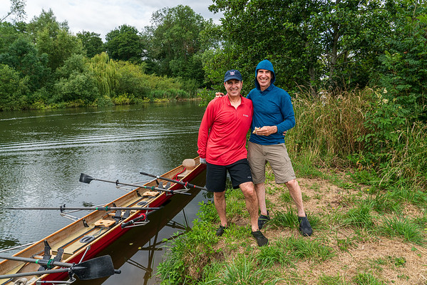 2019-07 Rowing in England and Germany