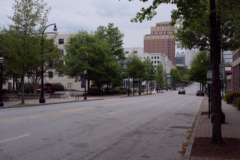 Peachtree Rd. in Midtown