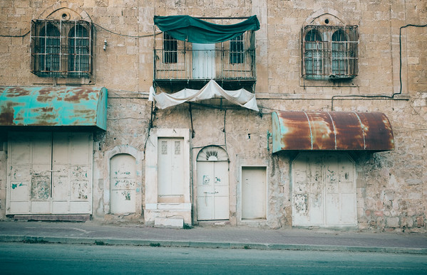 The Empty Streets of Hebron
