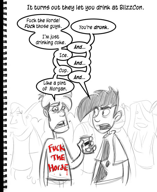 Blizzcon Sketchbook: The Thirstening