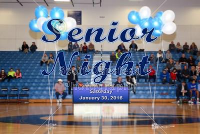 2016 Senior Night (01-30-16)