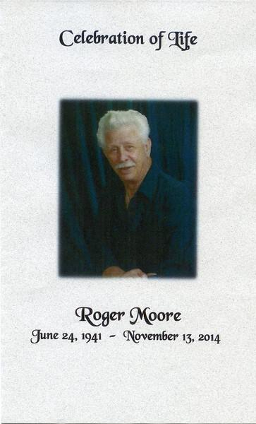 Roger Moore's Memorial Service (11.24.14)