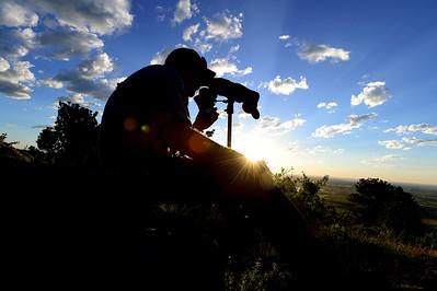 Photos: Tracking Elk Herds in Boulder County