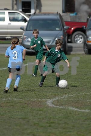Team 5 Colonial Blue vs Team 7 Green - 9:30  4-21-07