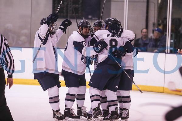 Men's Ice Hockey vs. Fredonia (Teddy Bear Toss)
