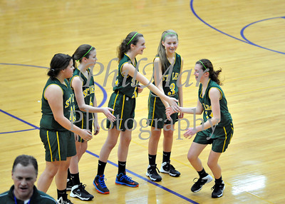 Championship - St. Leo vs Resurrection Girls Cyo Basketball