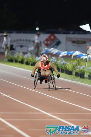 Class 3A - Running Event Finals - Girls 200m Wheelchair