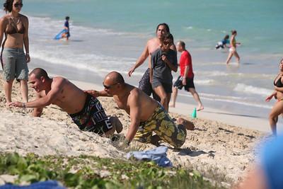 cadiz football game on kailua beach 12-28-09