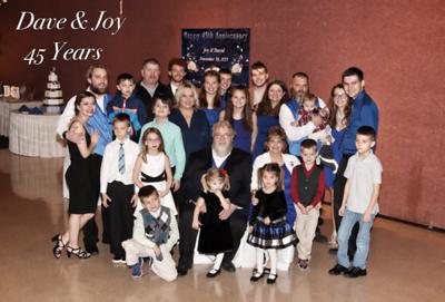 David & Joy Vaughn's 45th Anniversary Party