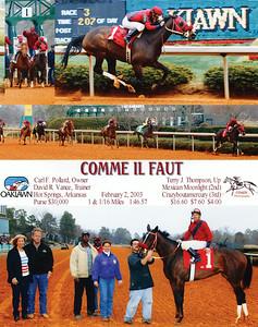 COMME IL FAUT - 2/02/2003