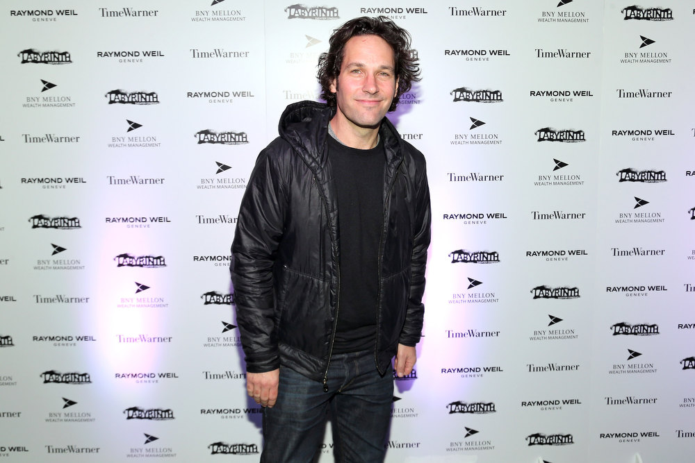 Description of . Paul Rudd attends LAByrinth Theater Company Celebrity Charades 2013 Benefit Gala at Capitale on January 14, 2013 in New York City.  (Photo by Neilson Barnard/Getty Images for LAByrinth Theater Company)