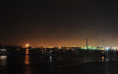 St. Clair River at Night