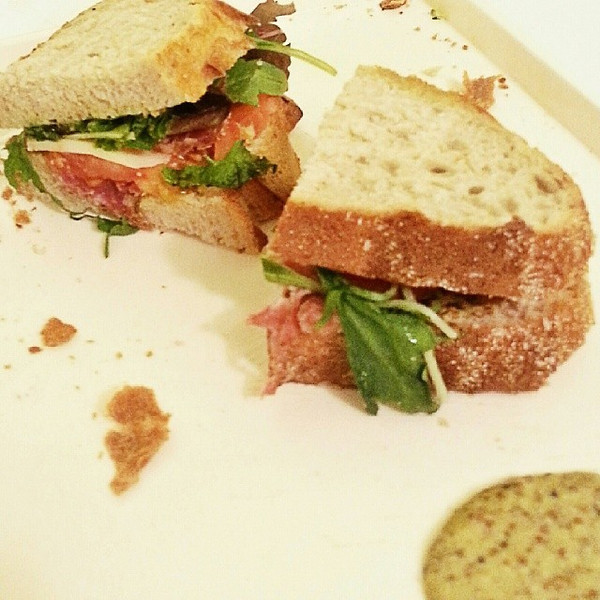 Too_cold_to_go_out__fortunately__chef_rouge_makes_a_killer_double_smoked_landjager_sandwich_with_arugula_mustard.___luckiestgirlintheworld.jpg