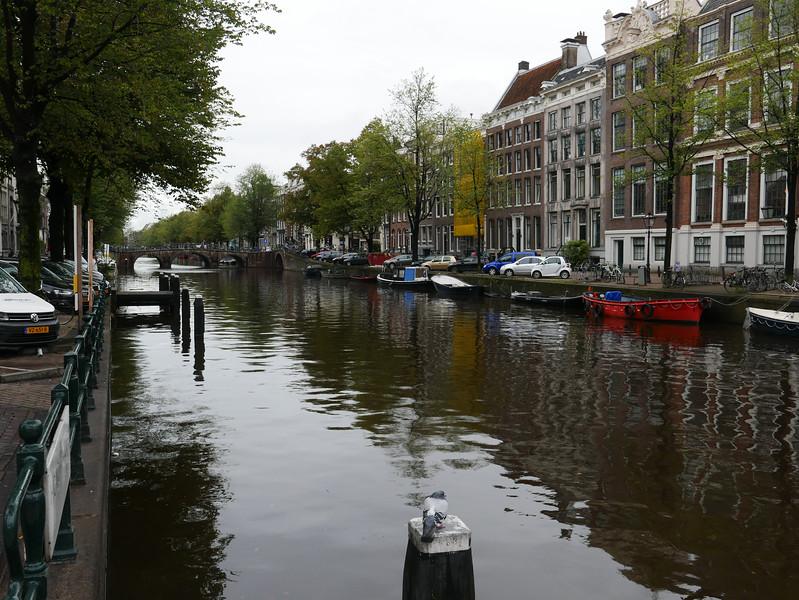 Keizergracht Canal Beside the Homomonument