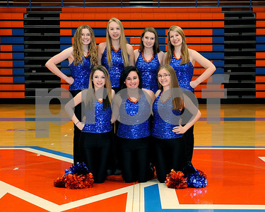 Marshall County High School 2011 - 2012 Dance Team, Coaches Beth Driver & Kim Turner, March 1, 2012.