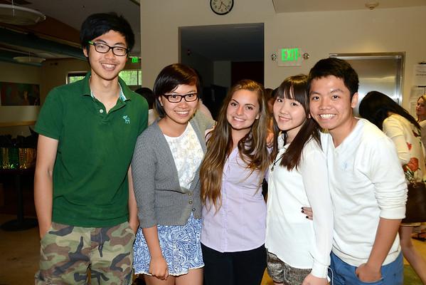 2013 International Students Graduation Dinner photos by Gary Baker