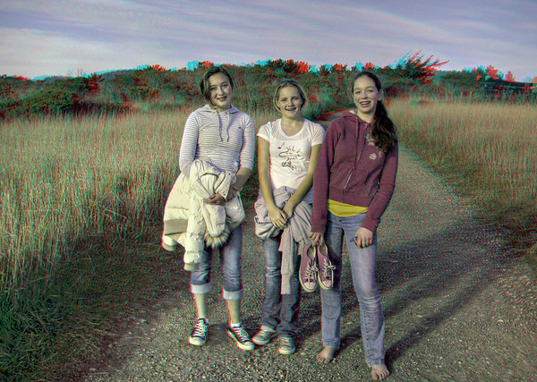 Ano Nuevo - in 3D (red/cyan glasses required)