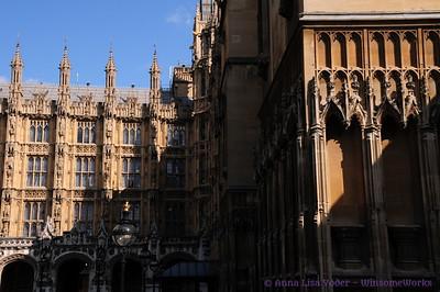 Around Parliament, Big Ben, Westminster, etc