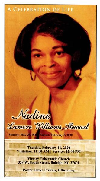 Remembering Nadine