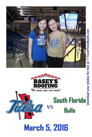 TU vs South Florida - March 5, 2016