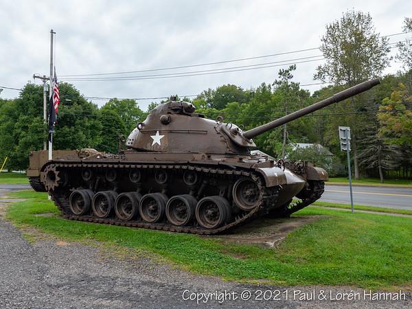 American Legion Post 1118 - Cold Brook, NY - M48A1 & M84