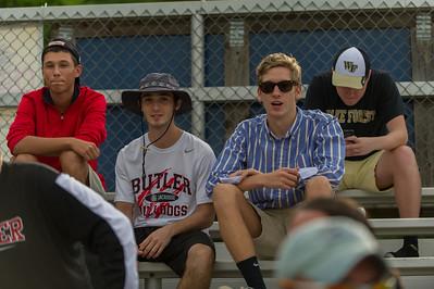 2014-05-02 BHS Baseball VS Independence (Senior Night)