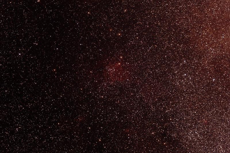 Gum 70 Nebula in Sagittarius - 28/6/2014 (Processed stack)